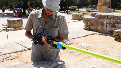 Sapirstein uses 3-D tech to further study of Greek architecture
