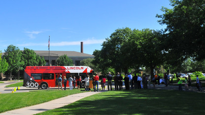 Campus buses to run on compressed natural gas