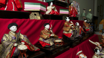 Japanese dolls span continents, centuries