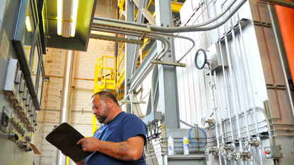 Boilers fire up to meet campus heating demands