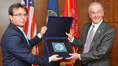 New Turkish consul general visits UNL