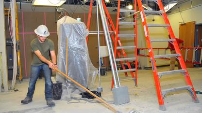 Nebraska Union renovation rolls on