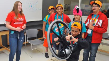 STEM Expo, egg drop kick off Science Olympiad