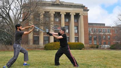 30+ participate in stage combat workshop