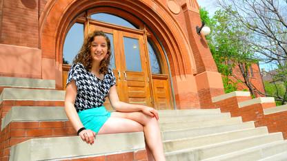 Math senior earns NSF fellowship