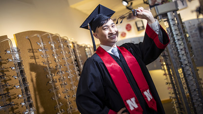 Eyes on the future: Husker grad pursues career in optometry