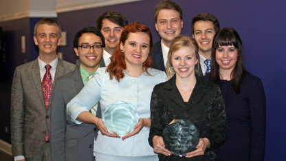 Speech and debate team wins third straight Big Ten title