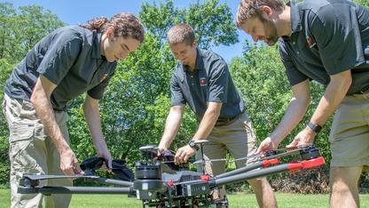 Husker startup brings firefighting drones to market
