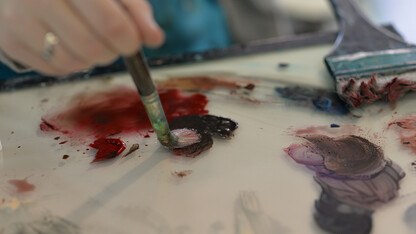 Painting strokes to build 'The Human Connection'