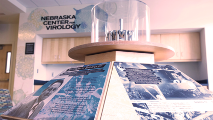 Virology exhibit honors late, great research pioneer
