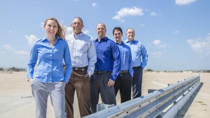 Husker-industry partnership leads to new roadside safety barrier