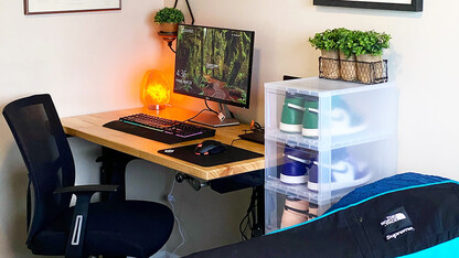 Distraction-free tranquility earns home office honors for Greene