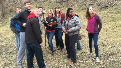 Students gain real-world experience through park project