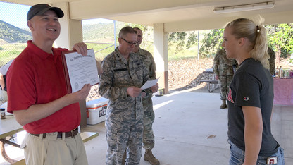National Guard sergeant completes Nebraska degree from afar