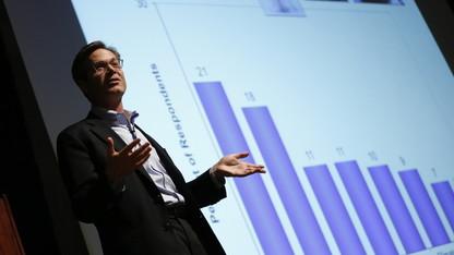 Heuermann lecturer: Public acceptance of climate change increasing