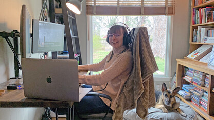 McIntosh's warm, comfortable space earns Husker Home Office honor