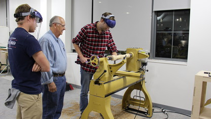 Innovation Studio hosts woodturners exhibit, reception