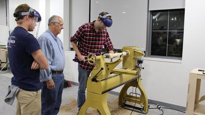 Innovation Studio hosts woodturners exhibit, reception
