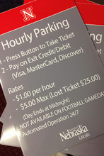 UNL to offer parking by hour in City Campus garages