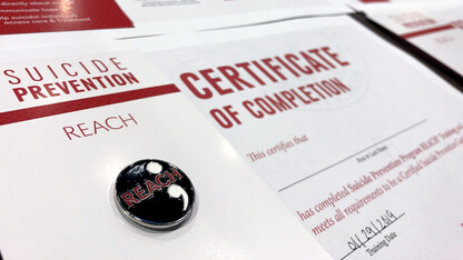 Nebraska reaches goal of 1,500 trained in suicide prevention