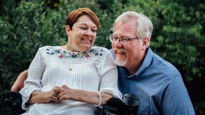 Flagel finds voice helping others at Nebraska U