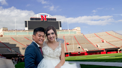 Big Red romance: Alumni's love story comes full circle