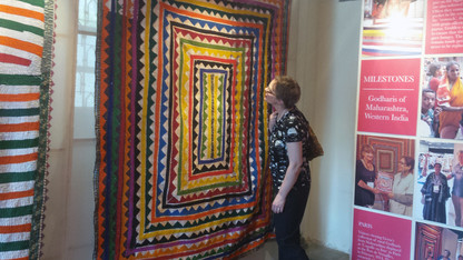 Quilt museum expands international ties to India
