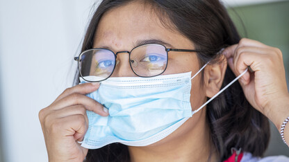 Faculty, staff assemble to provide face-covering expertise