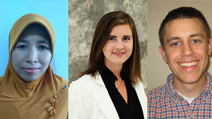Three doctoral students earn NU system fellowships