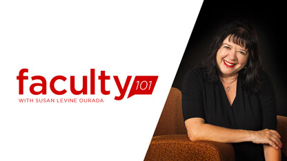 Faculty 101 talks movement with Ourada