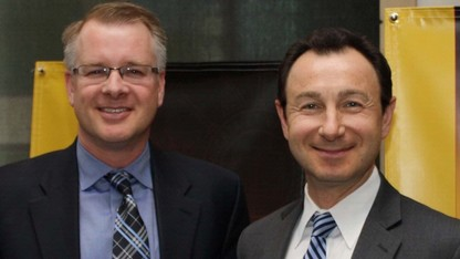 UNL, UNMC research duo honored for surgical robot