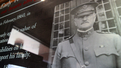 McCoy produces TV report on WWI general