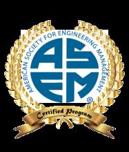 Master of Engineering Management program receives ASEM certification