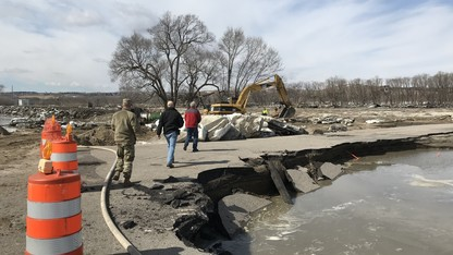 Campus programs assist flooding recovery efforts