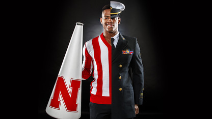 Husker forges path as cheerleader, musician, future Marine