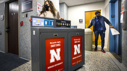 Recycling processes updated across eight campus buildings
