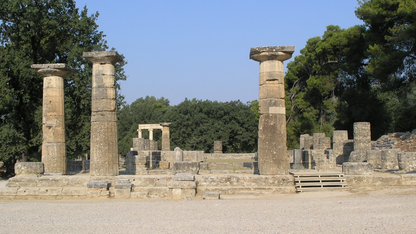 Lecture to explore 3-D modeling of Greek temple