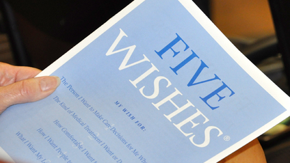 Five Wishes presentation is May 1