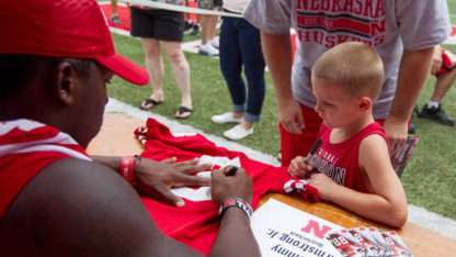 Husker football fan day goes prime time