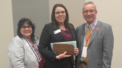 Nebraska Extension presents awards at fall conference