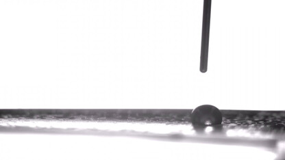 New technique acts as accelerator, brake for microscopic droplets