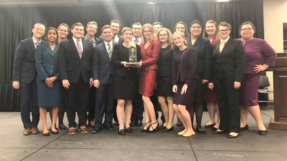 Husker wins national title in extemporaneous speech