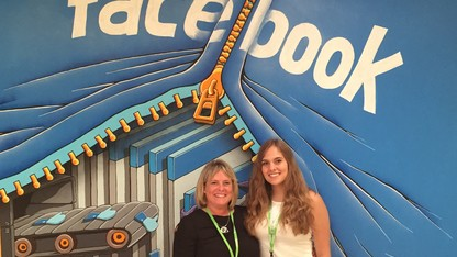 UNL's Swearer visits Facebook, consults on anti-bullying