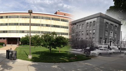 Photo of the Day | Teachers College, then and now
