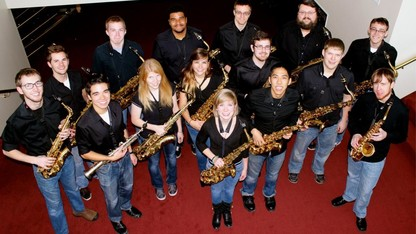Saxophone studio presents 'Four By Four'