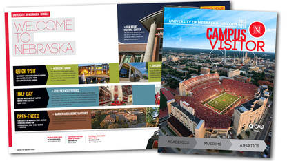Free copies of campus visitors guide available