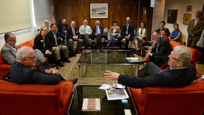 UNL continues to expand links with Brazil universities