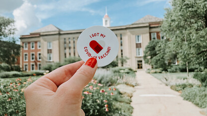 Seven more Huskers collect vaccine registry prizes