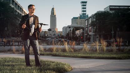 Waite to discuss Drone Age in Nebraska Lecture