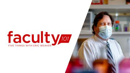 Weaver goes viral on flu, coronavirus for Faculty 101